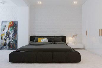 Спальня-в-стиле-минимализм