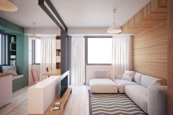Дизайн Квартиры Студии: 11 Правил и 144 Реальных Фото