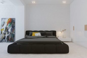 Спальня в Стиле Минимализм фото (реальные)