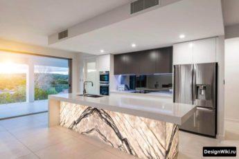 Кухня в стиле Хай-тек: 2 Дизайна и 107 фото (реальные)
