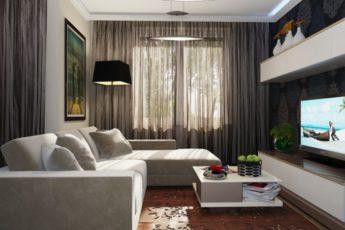 Гостиная в хрущевке — примеры планировки и создания комфортного дизайна гостиной (90 фото)