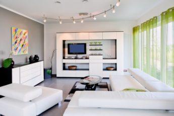 Белая гостиная — 125 фото идей декора и оформления дизайна гостиной в белом цвете