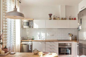 Интерьер кухни в Скандинавском стиле: 113 фото