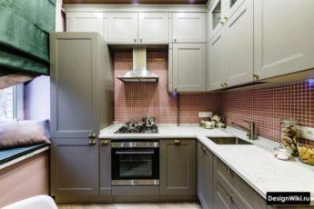 изайн кухни 6 кв.м - 5 идей и 138 фото (реальные ремонты)