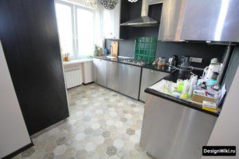 Какой пол лучше сделать на кухне — сравниваем ламинат и плитку