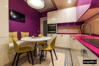 Кухня 9 кв.м: 112 Фото (реальные) и 8 идей планировки и дизайна