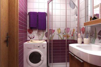 О дизайне маленькой ванной комнаты